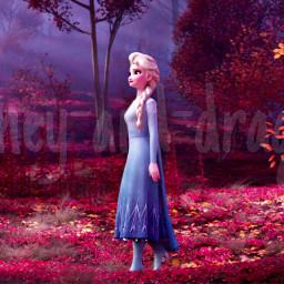 freetoedit frozen2 frozen elsa trees screencap