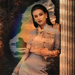 freetoedit goldenhour woman beautiful exploring