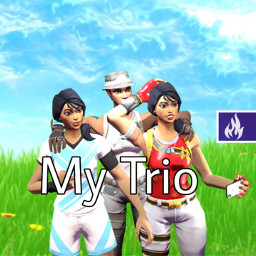 freetoedit fortnite thumbnail trio arena