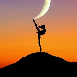 freetoedit ballet dance tanzen yoga