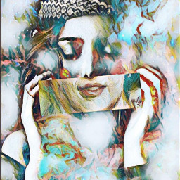 freetoedit artisticportrait colorful expression undefined