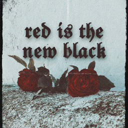 freetoedit redisthenewblack redrose rose black
