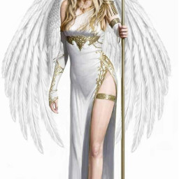 freetoedit amazingwoman beautifulwoman woman wings scepter