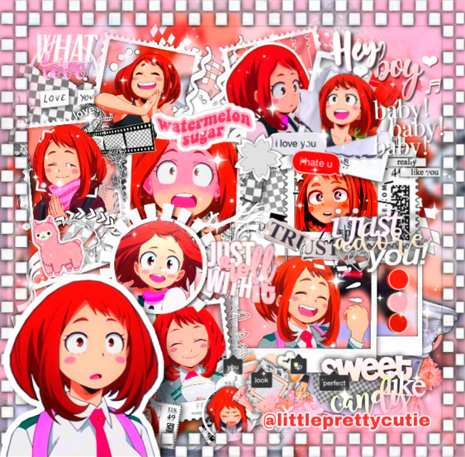 Hiiiii!!! I missed so much editing gosh!!! Hope you like this one i spend a really long time on it 🥰 anyways, idk if picsart glitch but i lost a lot of views but it do not really matter i just hope comments are back soon !! 😌✨ Tags : [#uraraka #urarakaochaco #ochakouraraka #ochako #urarakaochako #mha #mhaedit #myheroacademia #bnha #bnhaedit #bokunoheroacademia #anime #manga #animeedit #pink #cutegirl #animegirl ] #freetoedit