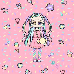 kawaii girl kawaiigirl pastel aestheticpastel