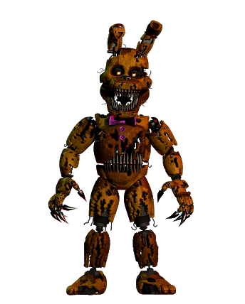 Hi guys! Salty here! Today i brought you some Nightmare SpringBonnie! Hope you like it! #fnaf4 #fredbear #springbonnie #nightmarespringbonnie #fnaf #followme