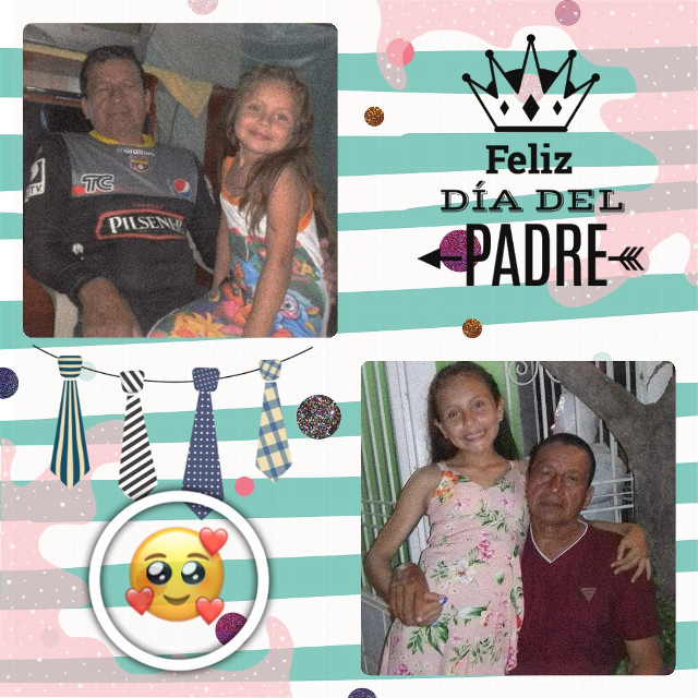 #freetoedit #diadelpadre  #happydayfather #collage #fotoedit