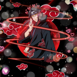 itachi_uchiha itachi akatsuki naruto naruto_shippuden freetoedit