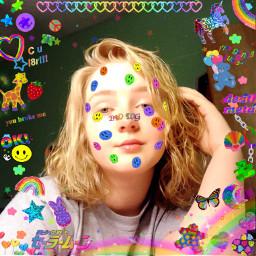 kidcore kidcoreaesthetic childish rainbowaesthetic aestheticedit