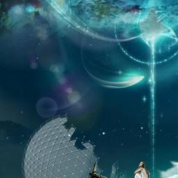 universo fantasyart surrealism allpicsart dreamworld