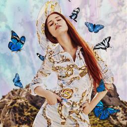 madelainepetschedits freetoedit rcholographicbutterflies holographicbutterflies
