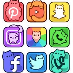 socialmedia pinterest youtube snapchat instagram freetoedit