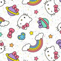 hellokitty hellokittybackground rainbows backgroundsticker prettygirl freetoedit
