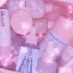 aestheticpics pink pinkaesthetic sparkleaesthetic glossier freetoedit