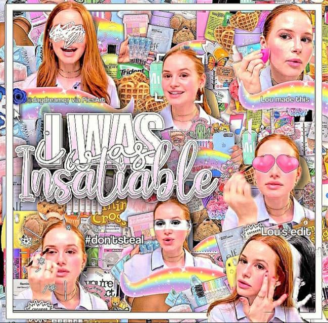 𝙻𝙾𝚄 𝚆𝙰𝙽𝚃𝚂 𝚃𝙾 𝙷𝚄𝙶 𝙲𝙷𝚄𖤐₊˚.🐚ˎˊ˗  ˗ˋˏ🐰 𝙽𝙴𝚆 𝙿𝙾𝚂𝚃🐰ˎˊ˗  ততততততততততত  ˗ˋˏ 𝙸𝙽𝙵𝙾𝚁𝙼𝙰𝚃𝙸𝙾𝙽 ˎˊ˗ ♡︎ ᝂ🌷𝚃𝙴𝚇𝚃 :: I was Insaliable  ♡︎ ᝂ🗞 𝚃𝚈𝙿𝙴:: Complex edit (as always) ♡︎ ᝂ☁️ 𝙲𝙴𝙻𝙴𝙱:: Madelaine Petsch  ♡︎ ᝂ🥥 𝙰𝙿𝙿𝚂 𝚄𝚂𝙴𝙳:: PicsArt, Vsco, Polarr  ♡︎ ᝂ⛲ 𝙳𝙰𝚃𝙴:: June 29  ♡︎ ᝂ🦚 𝙵𝙲:: 1,367 thx♡♡♡  ততততততততততত  ˗ˋˏ 𝚂𝙸𝙳𝙴 𝙽𝙾𝚃𝙴 ˎˊ˗ Hi Dreamers! Another ugly edit! Woohoo!  I wanted it to turn out different, but well....  Anyways, if u want a special celeb that I should edit dm me♡ -lou♡   ততততততততততত  ˗ˋˏ 𝙲𝚁𝙴𝙳𝙸𝚃𝚂 ˎˊ˗ ♡︎ ᝂ 🐭 𝙳𝙴𝚂𝙲𝚁𝙸𝙿𝚃𝙸𝙾𝙽 :: @cupidshelping ♡︎ ᝂ 🌸 𝙴𝙳𝙸𝚃 𝙸𝙽𝚂𝙿𝙾 :: @tropiqalgloss  ♡︎ ᝂ 💡 𝙿𝙽𝙶𝚂 𝙵𝚁𝙾𝙼 :: @tropiqalgloss   ততততততততততত  ˗ˋˏ 𝙷𝙰𝚂𝙷𝚃𝙰𝙶𝚂 ˎˊ˗ #complex #edit #rainbow #madelainepetsch   ততততততততততত  ˗ˋˏ 𝚃𝙰𝙶𝙻𝙸𝚂𝚃 ˎˊ-  ♡︎ ᝂ ☔ 𝙱𝙴𝚂𝚃 𝙵𝚁𝙸𝙴𝙽𝙳𝚂:: @-honeycomb- ♡ @scftbutera ♡  @bocabibbles ♡ @ariana_thegrande ♡ @diorbambi ♡ @sunkisseq ♡  ♡︎ ᝂ 🌙 𝙳𝚁𝙴𝙰𝙼𝙴𝚁𝚂:: @tropiqalgloss ♡ @awhdior ♡ @swccthoney- ♡ @strangerthings_ya ♡ @-acaidior ♡ @buteraclouds ♡ @emmaxgrxce ♡ @crocs_girl31 ♡ @manuelly_time ♡  @pinacolada_sunshine ♡ @evangeline_grace ♡ @dreamsxlxst ♡ @xxcami_editsxx ♡ @stxckwithu ♡ @arianaxangelz ♡ @maylilbowpeep ♡  @_musicmylife_amel ♡  @-chxrrybun ♡ @-hxneyluv ♡ @taylorswift_selena13 ♡ @angclx ♡ @thaa_bishh ♡ @stqrrynight ♡ @titqn- ♡ @hxoneybeee ♡  @taylor_swift567 ♡ @lovelyskiies ♡ @teopandino ♡ @sleepyniche- ♡ @pixie_fairy ♡ @bubllii ♡ @xxjoy_galxx ♡ @fairyssz ♡ @berrybills ♡ @complexboca ♡ @-cloudyheavens ♡ @eunbis_violeta ♡ @awhkpop ♡ @galaxy_edits__ ♡ @focus-onme ♡  @ilovearianagrande64 ♡ @arisstrawberrry ♡ @sxft_pfps ♡ @x_charli_damelio_x- ♡ @_focus♡  ♡︎ ᝂ 🍨 𝙸𝙽𝚂𝙿𝙾𝚂:: @-clqud ♡ @diamondboca ♡ @lexi_19 ♡  ♡︎ ᝂ 🖇 𝙾𝚃𝙷𝙴𝚁 𝙰𝙲𝙲𝚂:: @aesthetic-dream ♡ @polarr_dream ♡  @trcpical_niche ♡