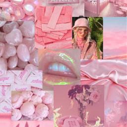 freetoedit pink pinkaesthetic collage collagefreetoedit