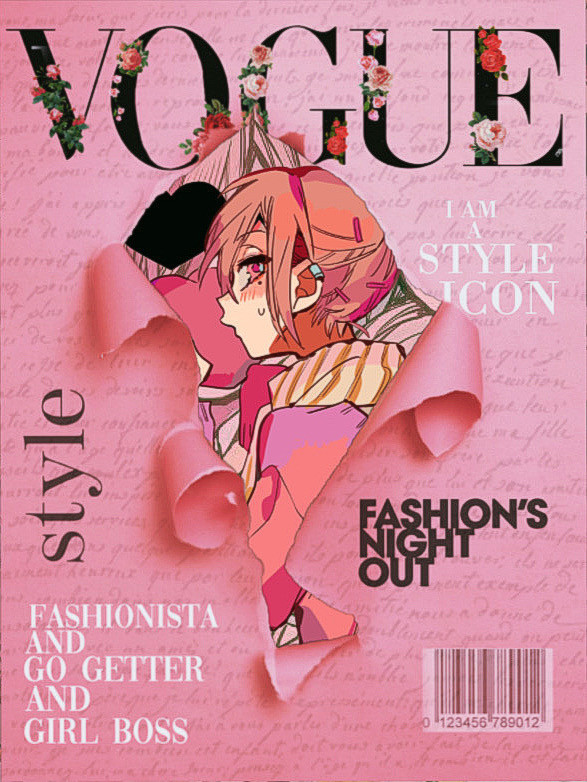 everyone ik is doing these vogue edits and since i have a servere case of fomo, i just needed to do this trend. so when i saw this sticker i thought  'who is a fashionista and a go getter girl boss?' and right away thought of mitsuba sousuke you're welcome                           #mitsuba #mitsubasousuke #toiletboundhanakokun #jibakushounenhanakokun #tbhk #jshk #pink #complexedit #vogue #animeboy #trap #yikes #fashionista #gogetter #girlboss #icon #styleicon #style #cute #kawaii  #freetoedit
