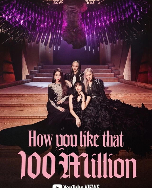 #blackpink, 100 milhões de views