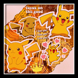 pikachu pokemon pokemonedit pikachukawaii ichooseyou freetoedit