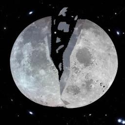 freetoedit lune moon coupeendeux espace