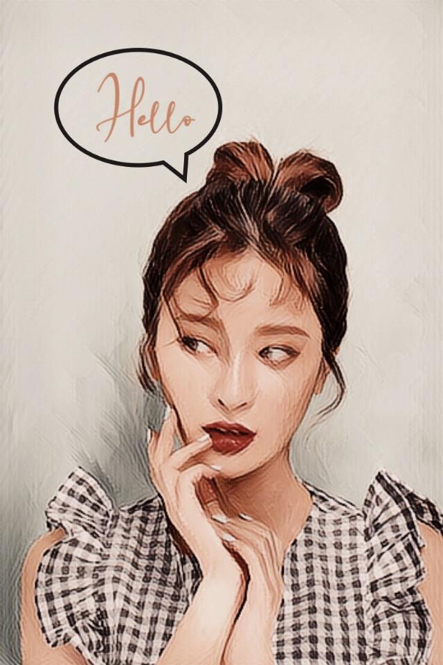 #freetoedit #hello #你好 #привет #cartoon #cartoonizereffect #ullzang #ullzanggirl #korean