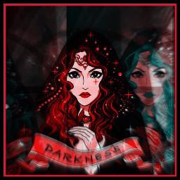 sorcière sorcellerie sombre obscure couleurs freetoedit