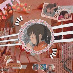 freetoedit animeedit animeaethetic chihiro chihiroogino