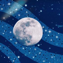 freetoedit moon sky galaxy