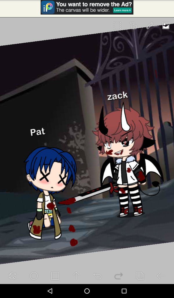 Pov# zacks demon comes out and he commits suicide*(part 1) like if you want me to make a part 2?!?