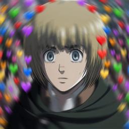 freetoedit armin attackontitan cute emoji