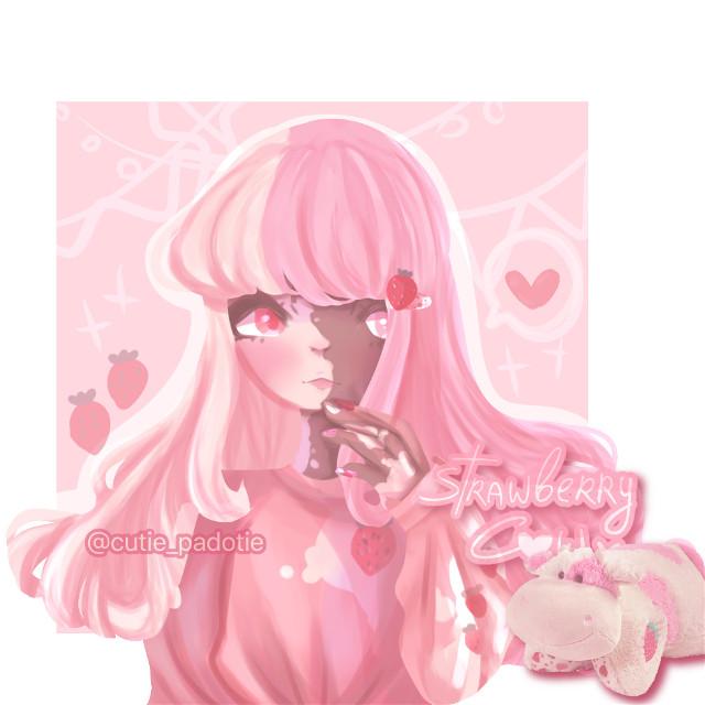 My insta is @cutie_padotie_ !!! And @feliafox #strawberry #strawberrycown