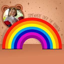 replay rainbow cute replays frame freetoedit ftestickers