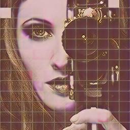 goldenrose artdigital effects art