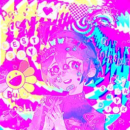 kidcore shuichi shuichisaihara kidcoreaesthetic bright scenekid scene scenecore