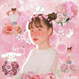 kpopedit ullzanggirl pink korea ullzang