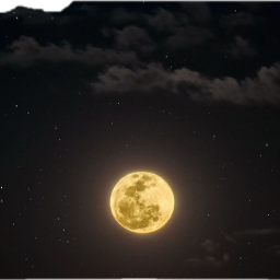 lua ceuestrelado