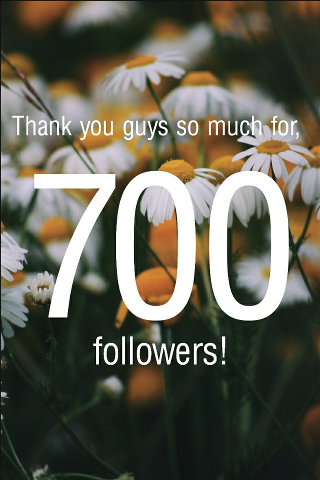 Thank you guys so, so, so, much!!! I love you all!