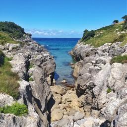 coast sea nature landescape freetoedit