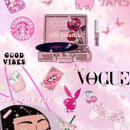pinkaesthetic pinkbackground pink aesthetic pinktheme freetoedit