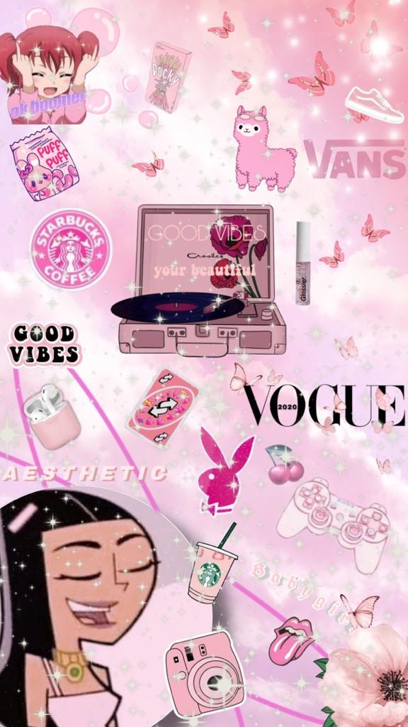 #pinkaesthetic #pinkbackground #pink #aesthetic #pinktheme #art #blush  #freetoedit