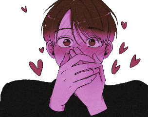 anime manhwa aesthetic pink blush freetoedit