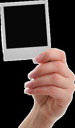 freetoedit photo polaroid frame hand