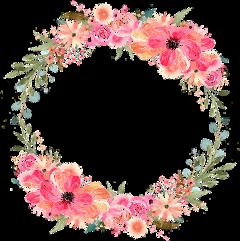 freetoedit circle frame circleframe flowerframe