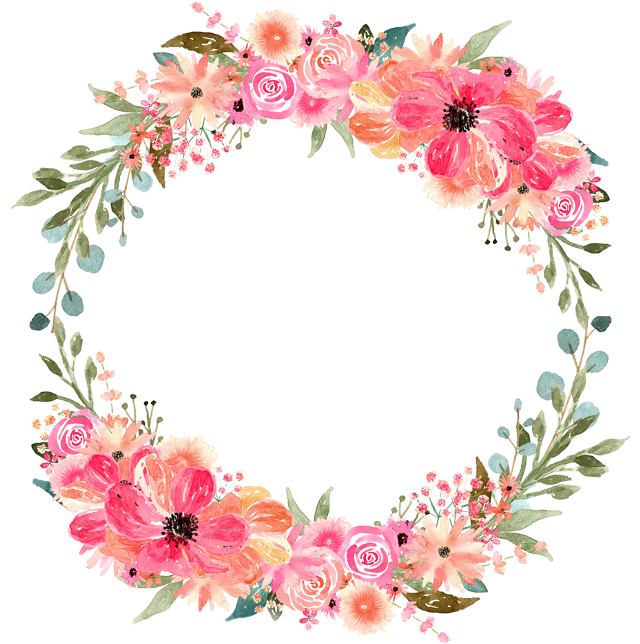 #freetoedit #circle #frame #circleframe #flowerframe #flowerborder #circleborder #flower #flowers #leaf #leaves