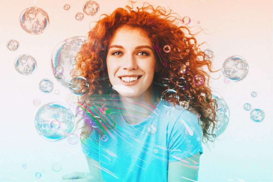#freetoedit #bubble #bubbles #gradient #ripple #masks #holographic