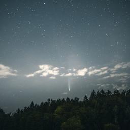 nature sky stars background backgrounds freetoedit