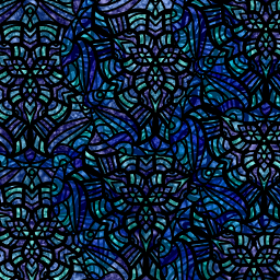 freetoedit blue stained glass vitrail
