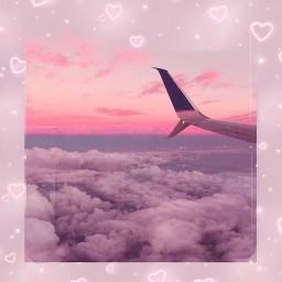 freetoedit aesthetic sunset pinksky pink