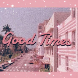 freetoedit aesthetic pink glitter goodtimes