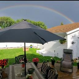 rainbow backyard backyardparadise